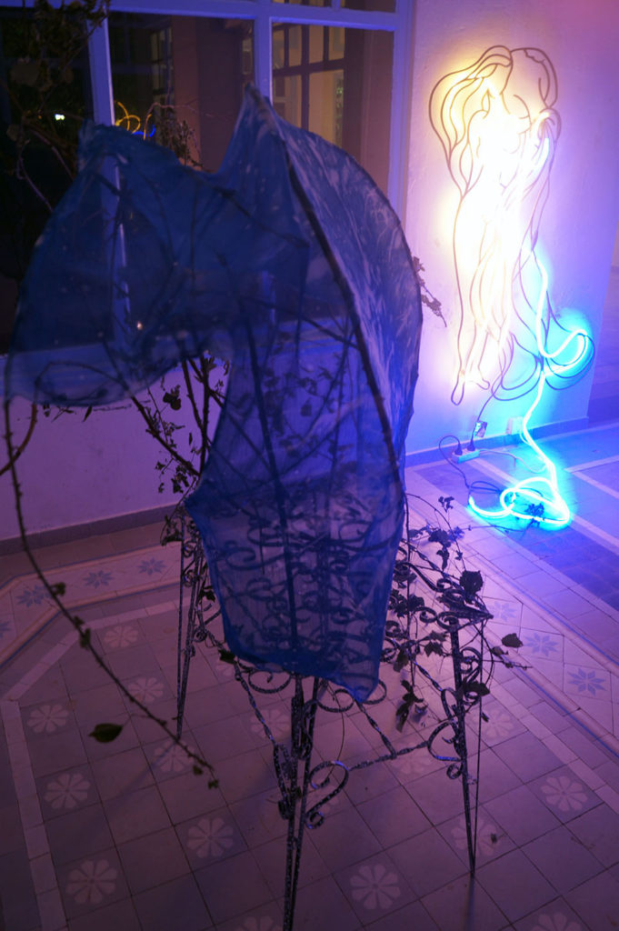 florence giroud, interludeXTZ, artist, french, artiste, contemporain, art contemporain, performance, performer, pougues-les-eaux, fondation saint-léger
